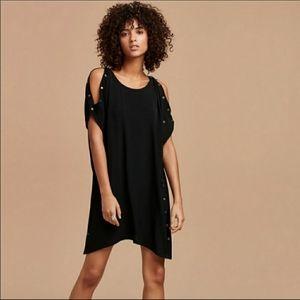 Aritzia Wilfred Free Aamito Black Dress Size XXS